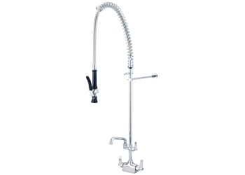 Pre-Rinse Faucets from Central Brass
